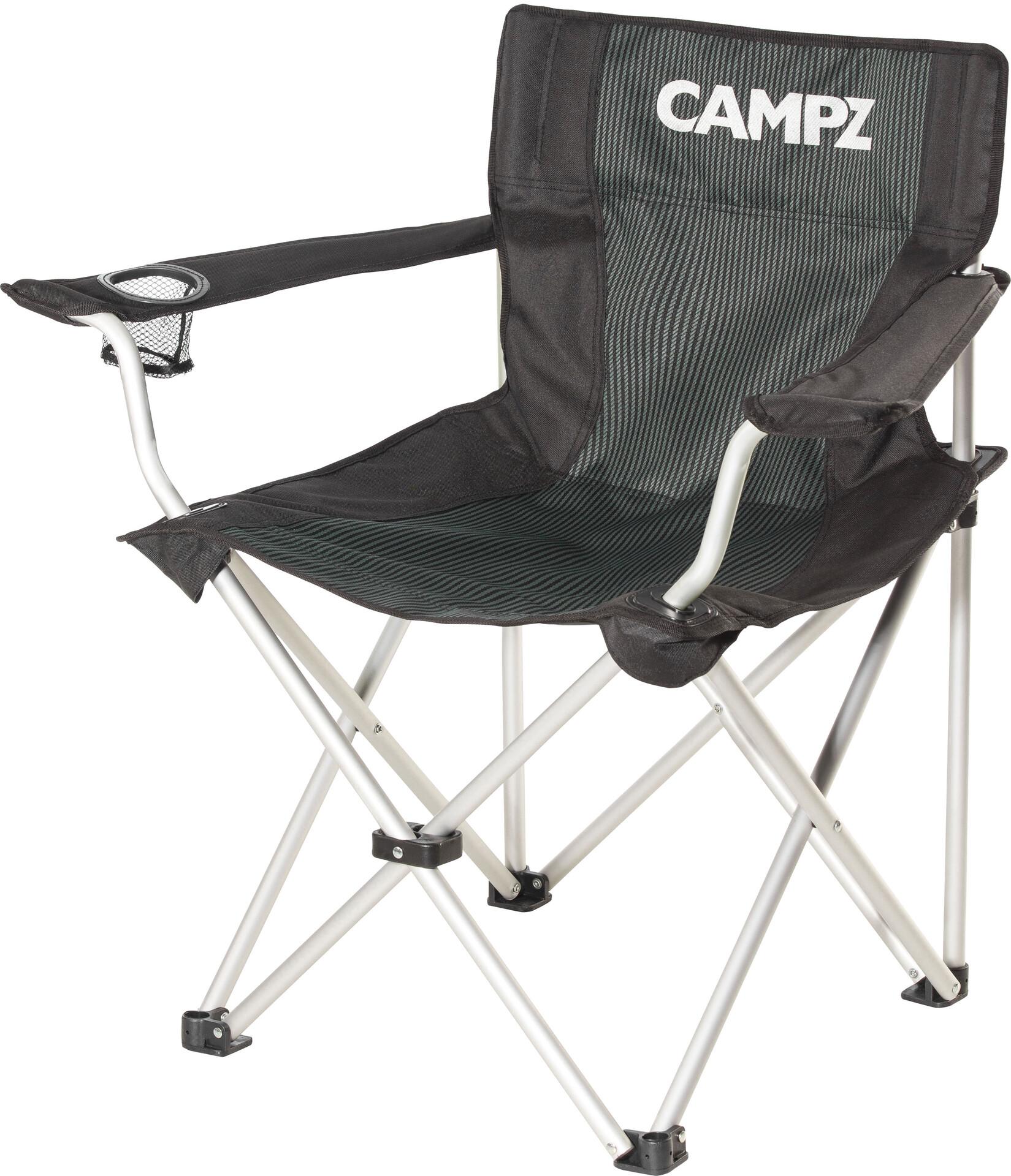 Chaise AluminiumBlack Campz Chaise Pliante En Campz En Pliante R3A5jL4
